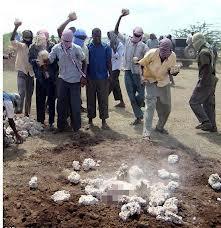 Scène de lapidation au Nord Mali