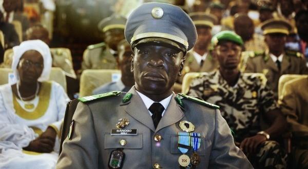 Capitaine lors de son investiture à la tete du comite de reforme de l'armée à Koulouba