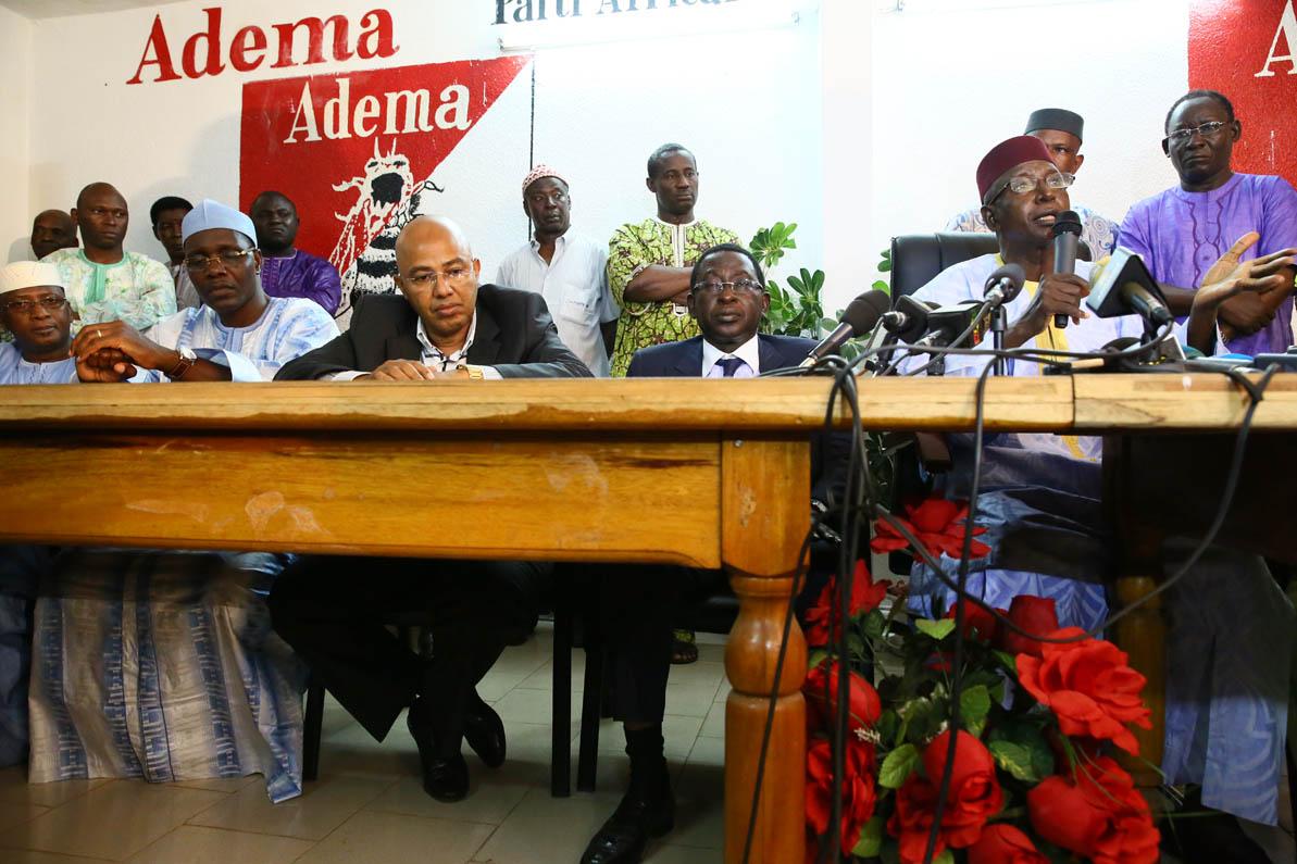Reunion du FDR à Bamako (Crédit RFI)